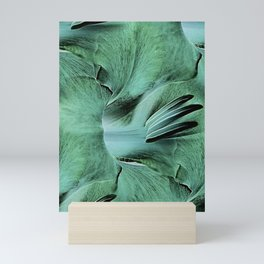 Gladioli Green Mini Art Print