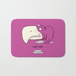 Grumpy Wings Bath Mat