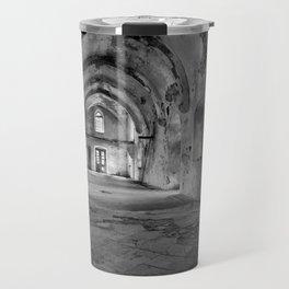 A derelict churh in Northern Cyprus Travel Mug