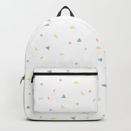 glaze and mixed decorative sprinkles Backpack
