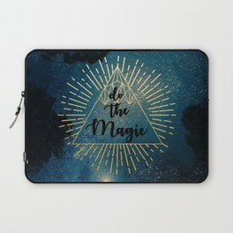 Do the Magic (Night Sky) Laptop Sleeve
