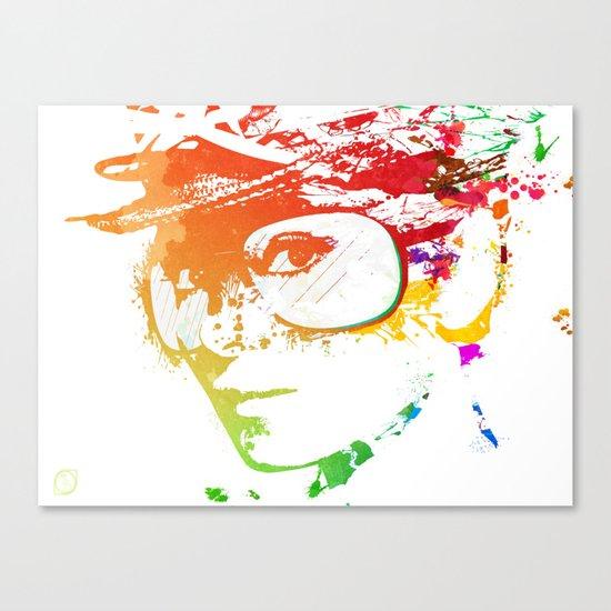 Audrey splash Canvas Print