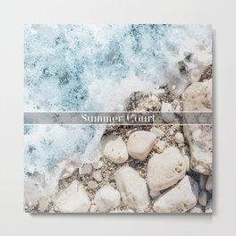 Summer Court Metal Print
