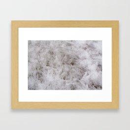 Ice knifes Framed Art Print