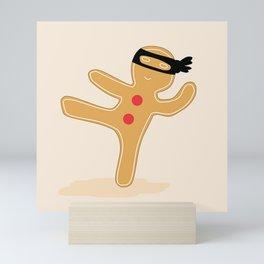 Ninjabread Man Mini Art Print