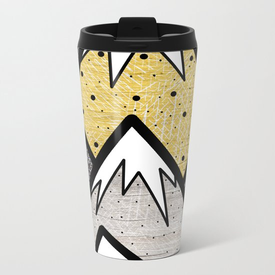 The Gold and Silver Hills Metal Travel Mug
