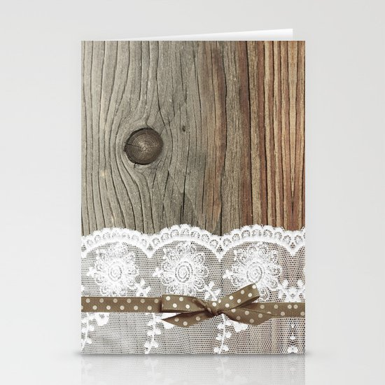 FRENCH LACE Stationery Cards