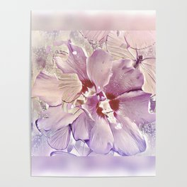Delicate Floral Poster