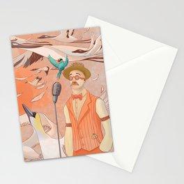 Aviator Orange Stationery Cards