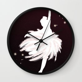 Space Ballerina (1 of 3) Wall Clock
