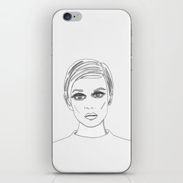 Twiggy iPhone Skin