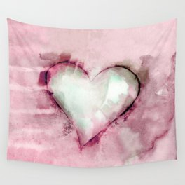 Love Unfolding No.26J by Kathy Morton Stanion Wall Tapestry