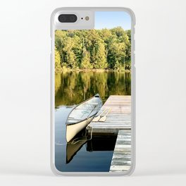Dock on the Lake Clear iPhone Case