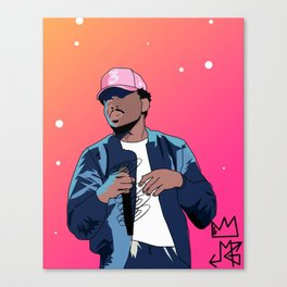 Chance The Rapper Canvas Print