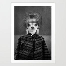 Lola in the 60's Art Print