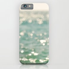 beach. bokeh sparkle, ocean. La Mer iPhone 6s Slim Case