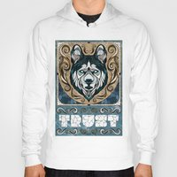 andreas preis Hoodies featuring Trust by Andreas Preis
