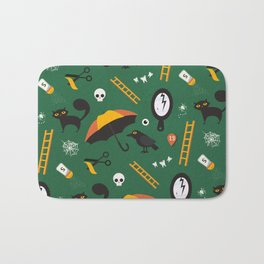The Usual Suspects (Patterns Please) Bath Mat