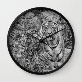 Tiger Mimicry Wall Clock