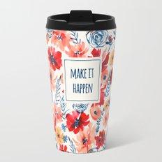 Red Radiance Travel Mug