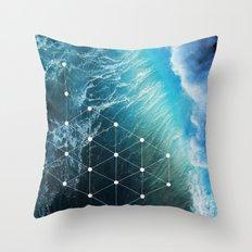 SEE_SEA Throw Pillow