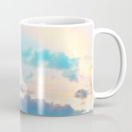 Unicorn Pastel Clouds #4 #decor #art #society6 Coffee Mug