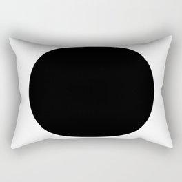 LINEd_FullCircle_BW Rectangular Pillow