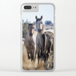 Growing Up Wild Clear iPhone Case