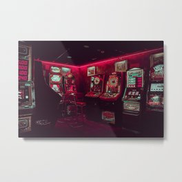 Retro Film Arcadia Metal Print