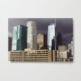Cloudy Times in Los Angeles Metal Print