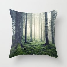 The last resort Throw Pillow