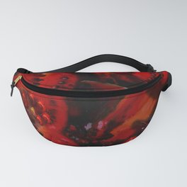 Inner Glow 4 Spiral Red Fanny Pack