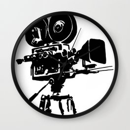 For Reel Wall Clock