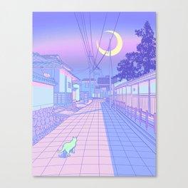 Kyoto Nights Canvas Print
