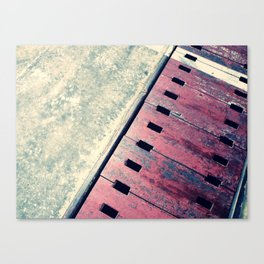 Airplane Hangar Floor 2 Canvas Print
