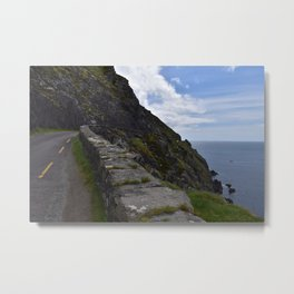 Ireland Coastal Scenery, Dingle Peninsula Metal Print