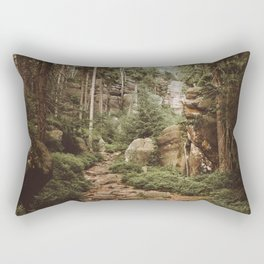 Table Mountains - Landscape and Nature Photography Rectangular Pillow