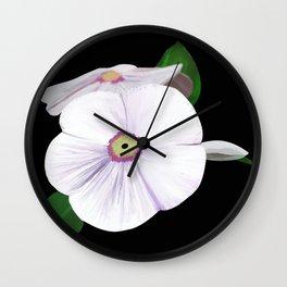 Rosy Whity Wall Clock