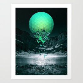Fall To Pieces Art Print