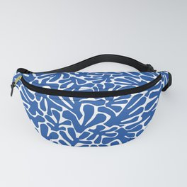 The Cut Outs | Bright Blue Fanny Pack