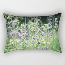 Amethyst Meadow Rectangular Pillow