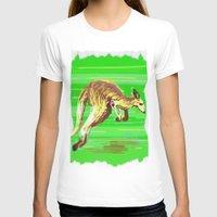 kangaroo T-shirts featuring Kangaroo by wingnang