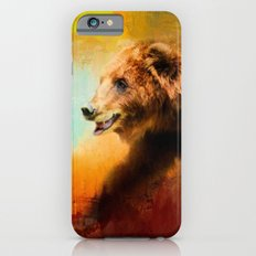 Colorful Expressions Grizzly Bear Slim Case iPhone 6s