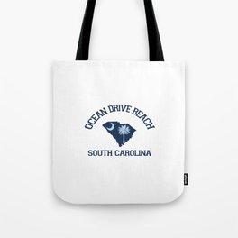 Ocean Drive Beach - South Carolina. Tote Bag