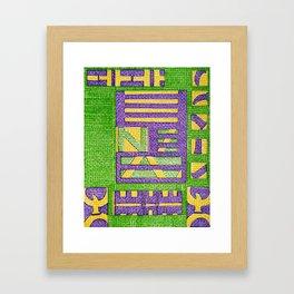 Lausiv- God of art Framed Art Print