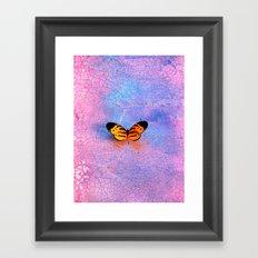 Fire Fly Framed Art Print