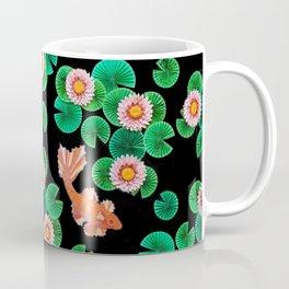 Koi fish with water lilies Coffee Mug