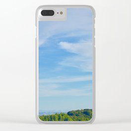 Sky and Mountain Clear iPhone Case