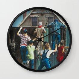 The Sandlot Wall Clock