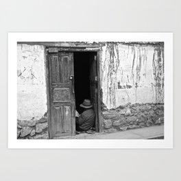portals .:. sierra peruano Art Print